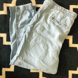 GAP linen jogger pants 💟